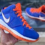 Nike Lebron 8 Blue Orange 'Hardwood Classic' 2021
