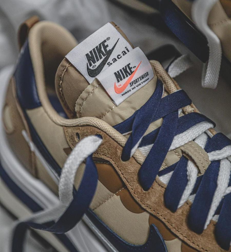 Nike Pegasus Vaporfly marron et bleu marine (1)