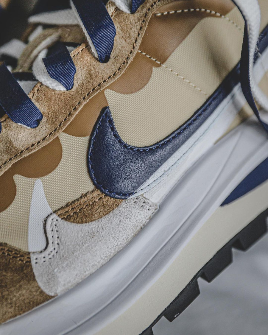 Nike Pegasus Vaporfly marron et bleu marine (3)