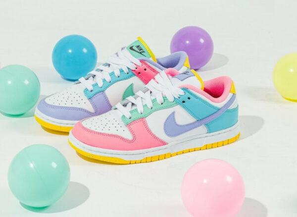 Nike W Dunk Low SE Easter Pastel Multicolor DD1872-100