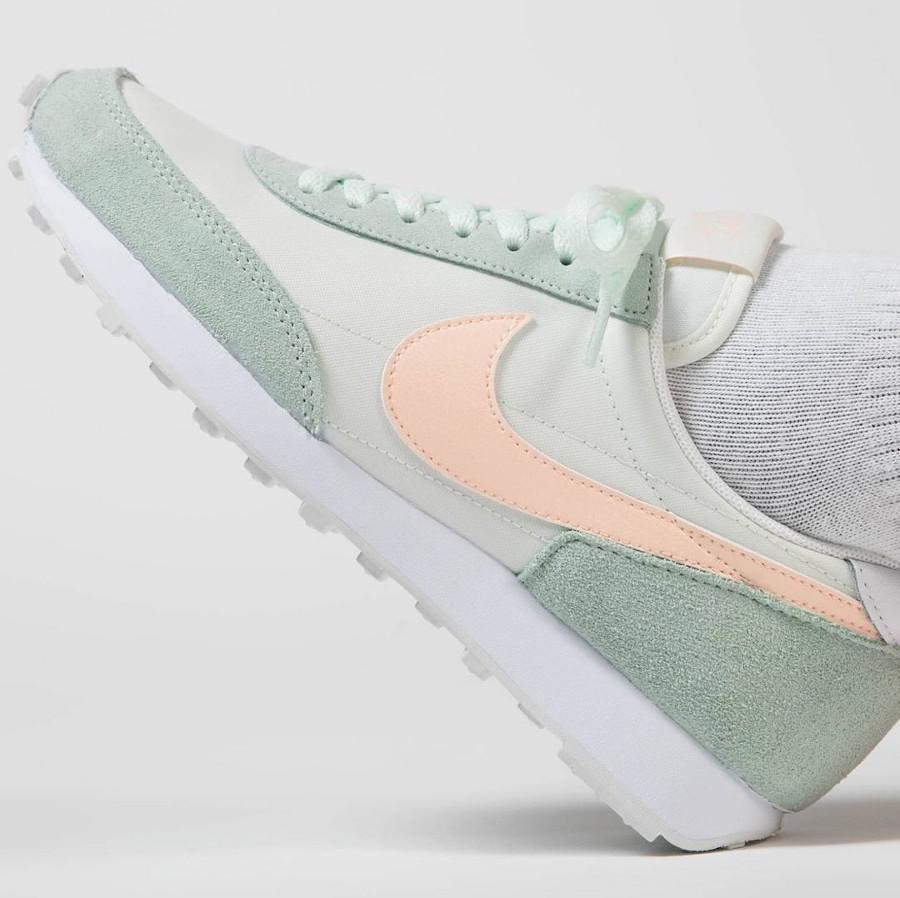 Nike Wmns Dbreak vert pastel et rose (3)