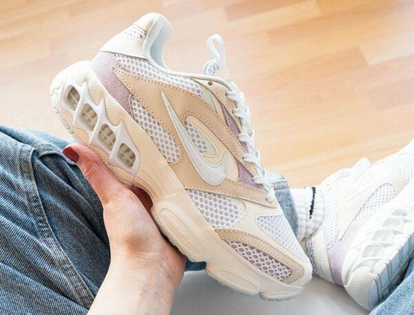 Nike Zoom Air Fire Spiridon 'Beige' Pearl White CW3876-200