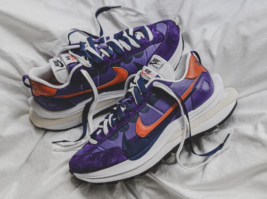 Nike x Sacai VaporWaffle Dark Iris Purple DD1875-500