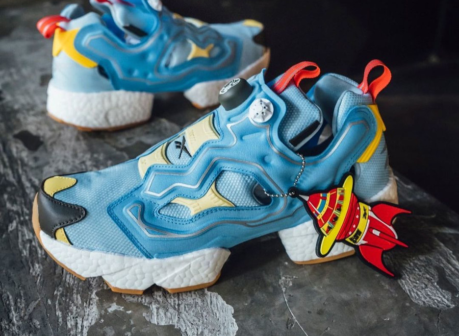 Reebok Instapump Fury Boost Dandy Blue Sky Blue Yellow Sensation GZ5362 (1)