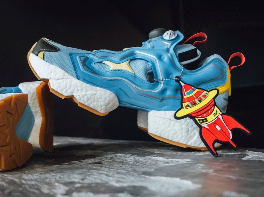 Reebok Instapump Fury Boost Dandy Blue Sky Blue Yellow Sensation GZ5362 (2)