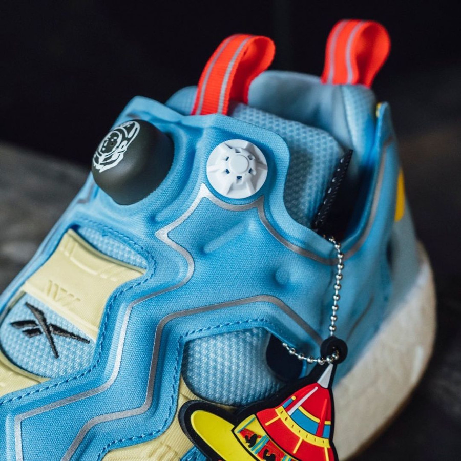 Reebok Instapump Fury Boost Dandy Blue Sky Blue Yellow Sensation GZ5362 (3)