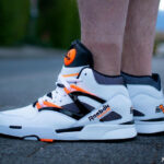 Reebok Pump Omni Zone II OG 2021 'Cloud White Wild Orange'