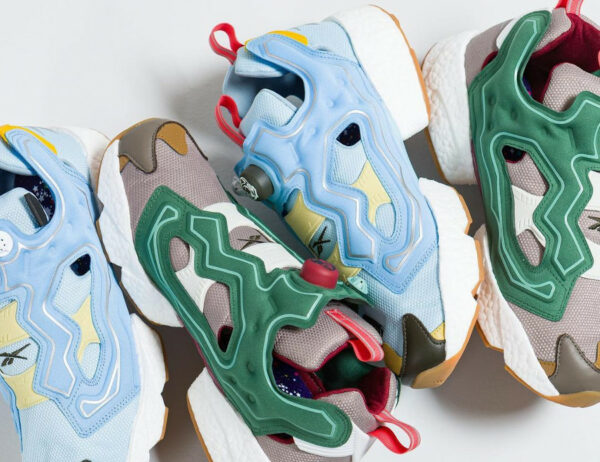 Reebok x BBC Instapump Fury Boost Earth and Water