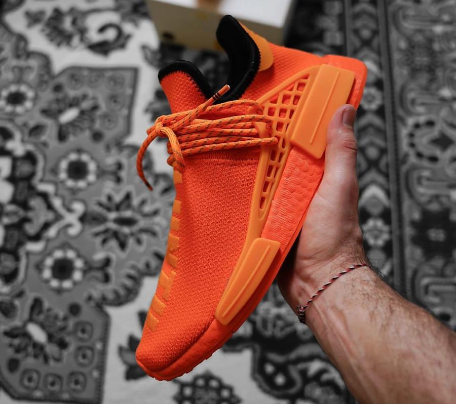 Adidas NMD Human Race Orange (1)