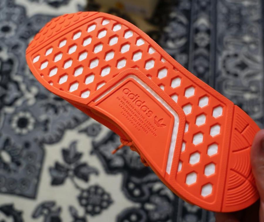 Adidas NMD Human Race Orange (2)