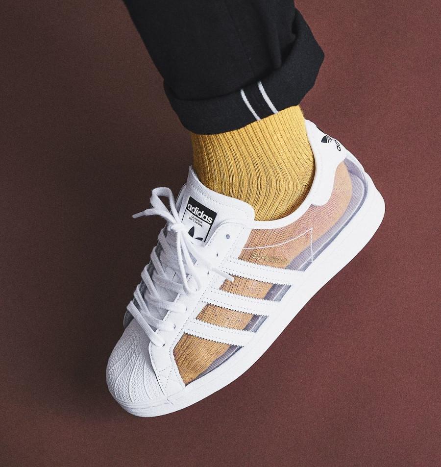 Adidas Superstar 80's Transparente Cloud White FZ0245