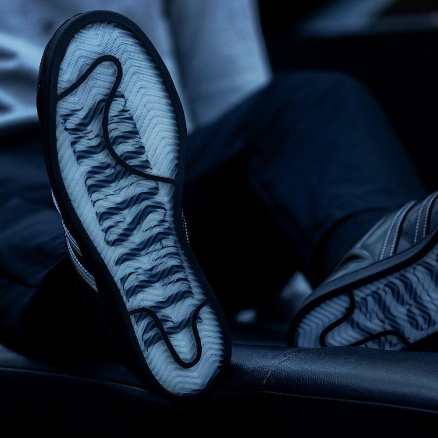 Adidas Superstar noir removable stripes (4)