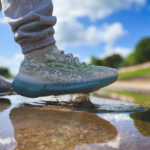 Kanye West x Adidas Yeezy 380 Alien Blue Reflective