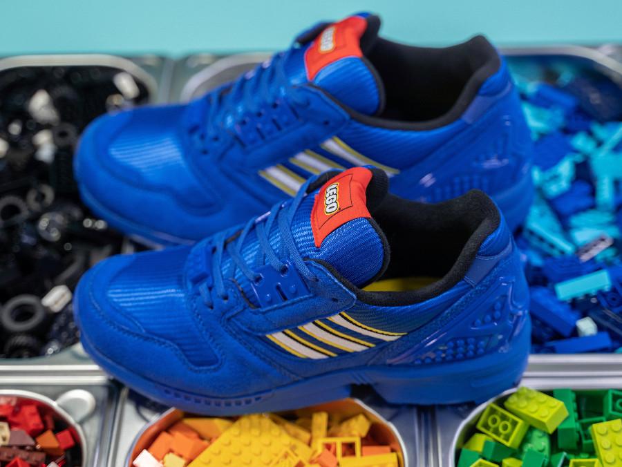 Adidas ZX 8000 Lego bleue FY7083
