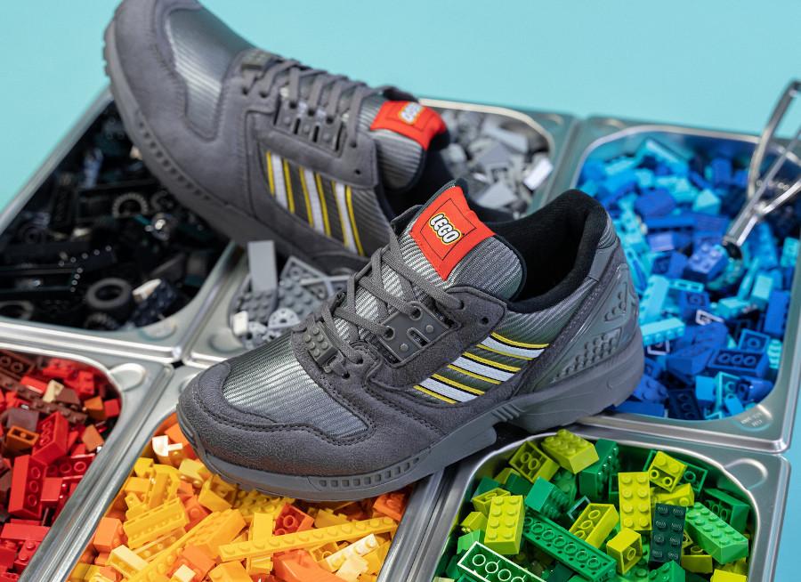 Adidas ZX 8000 Lego grise FY7080