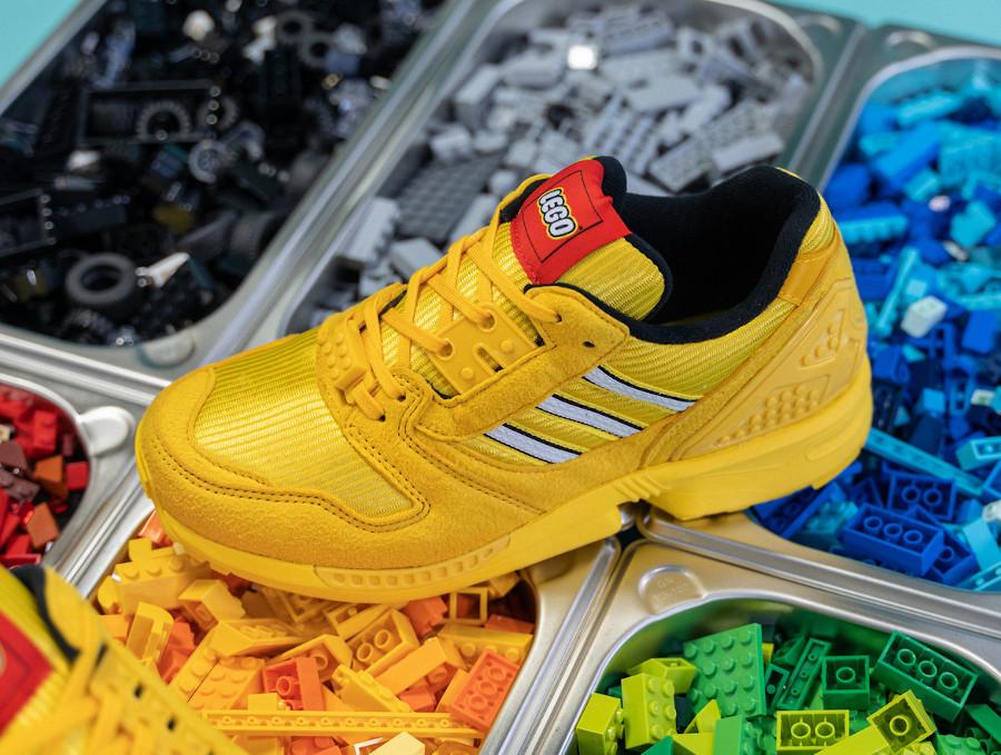 Adidas ZX 8000 Lego jaune FY7081