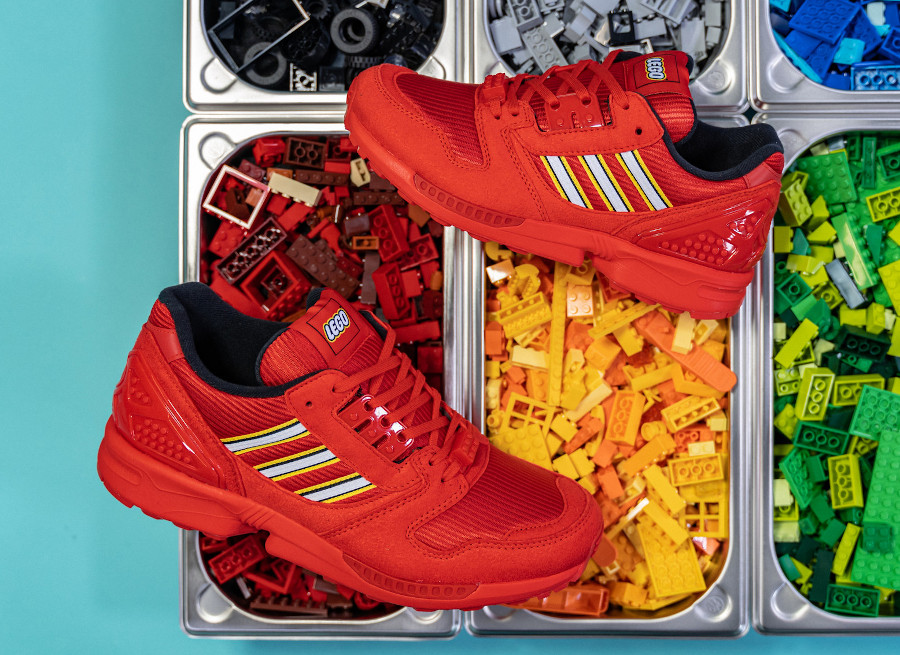 Adidas ZX 8000 Lego rouge FY7084