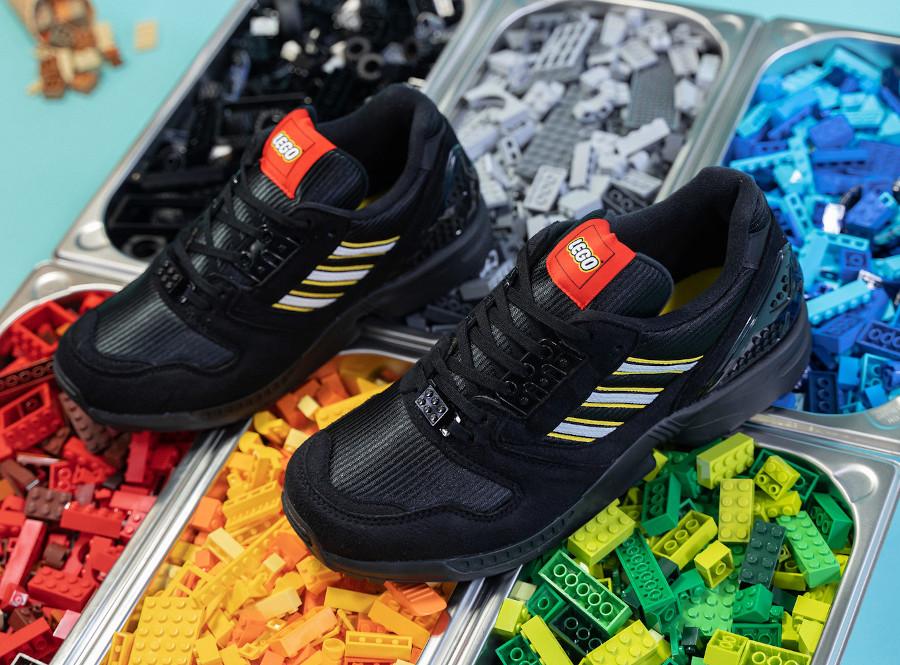 Adidas ZX 8000 brique noire FY7085