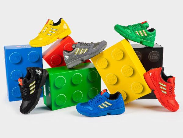 Adidas x Lego ZX8000 Torsion Bricks Color Pack 2021