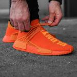 Pharrell Williams x Adidas NMD HU Bright Orange