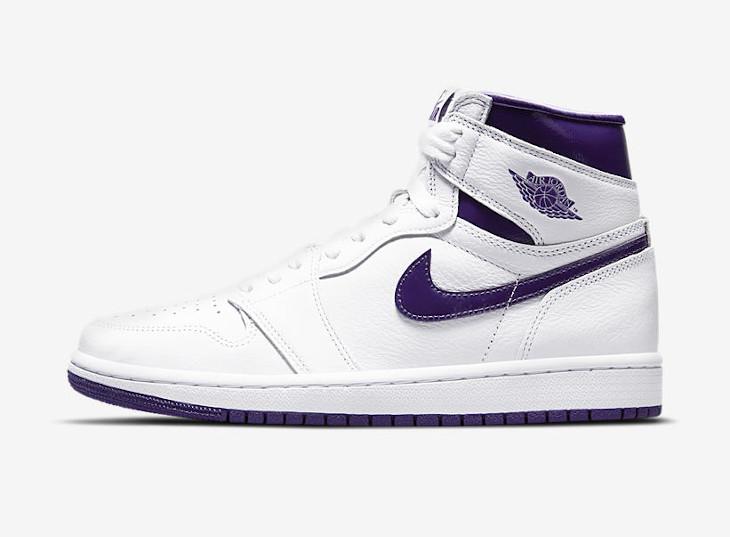 Air Jordan 1 High Court Purple 2021 date de sortie
