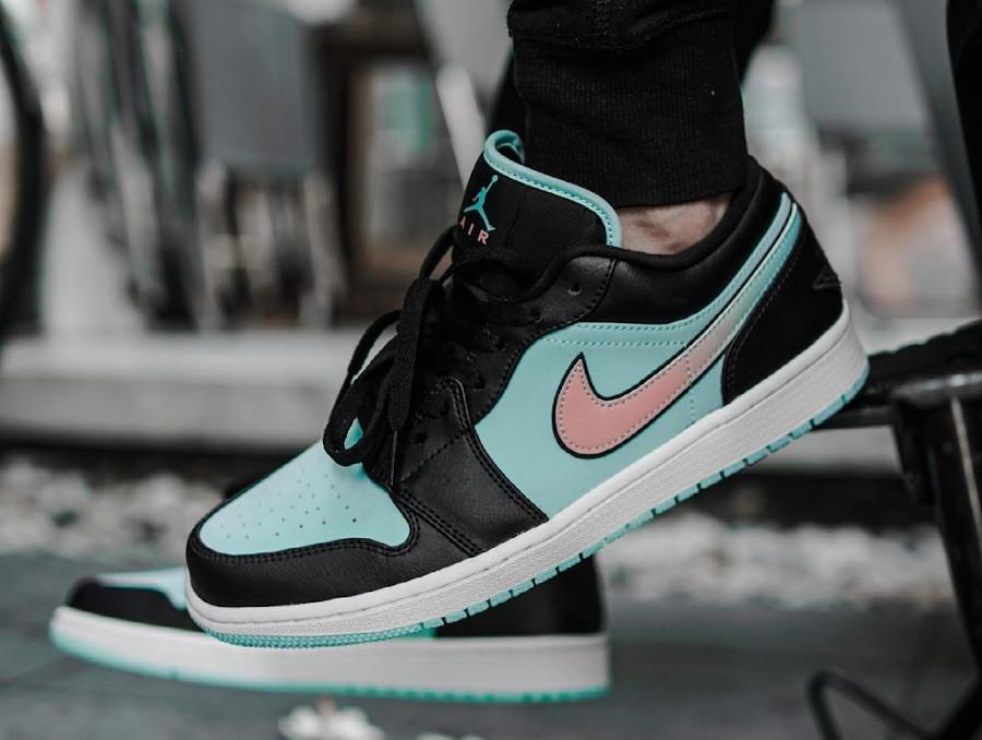 Air Jordan 1 Low Diamond Supply on feet (3)