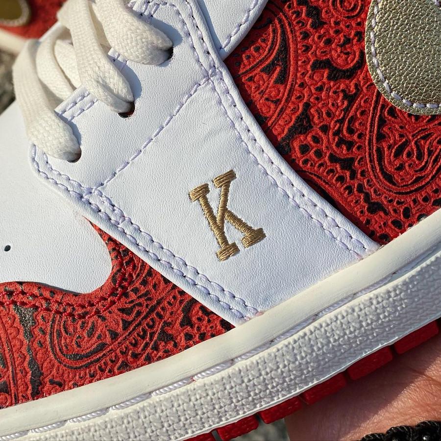 Air Jordan 1 Low K et Q (cartes à jouer) (1)