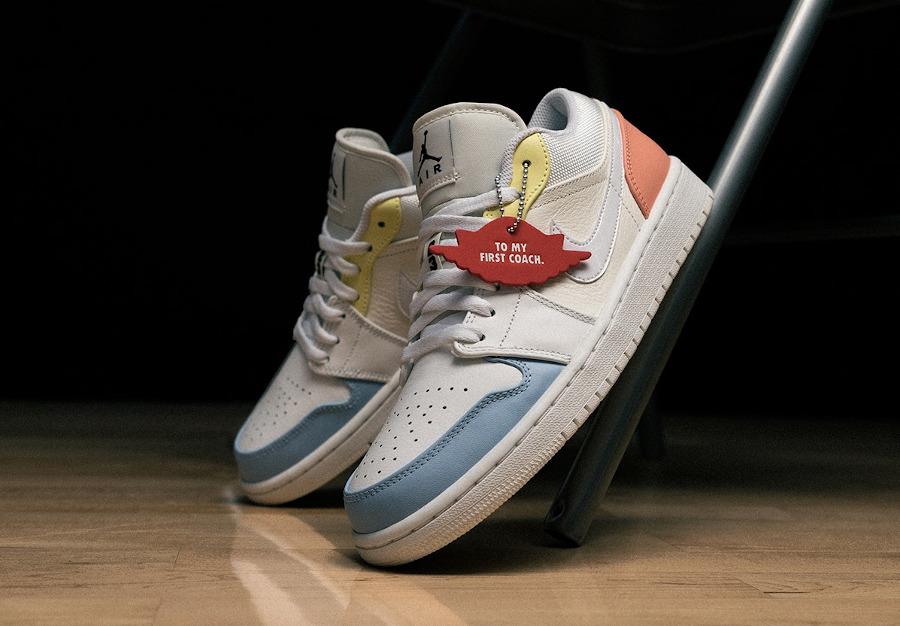 Air Jordan 1 Low To my first coach DJ6909 100