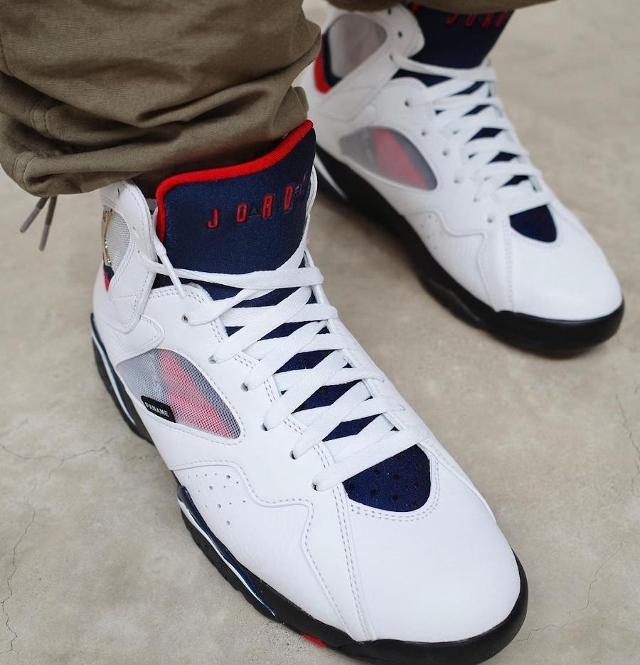 Air Jordan VII Paname on feet (2)