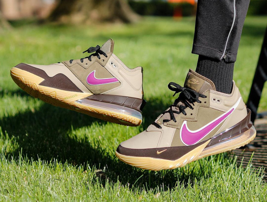 Atmos Tokyo x Nike Lebron XVIII Low Viotech