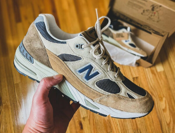 NB 991 Cappuccino M991SBN Sand Navy Made in UK