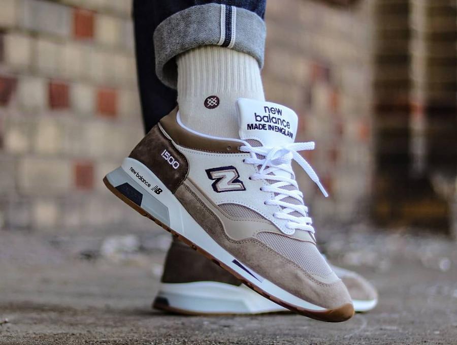 New Balance 1500 beige brown 2021 on feet