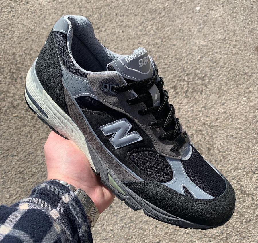 New Balance 991 SJ grise et noire (3)