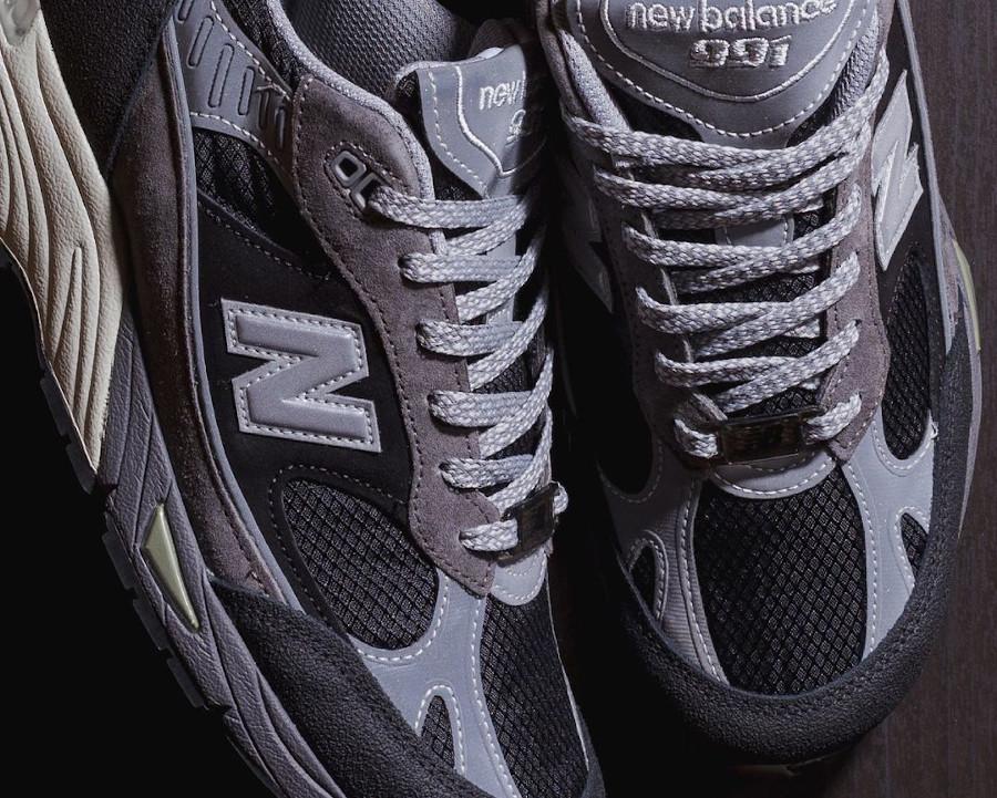 New Balance 991 SJ grise et noire (7)