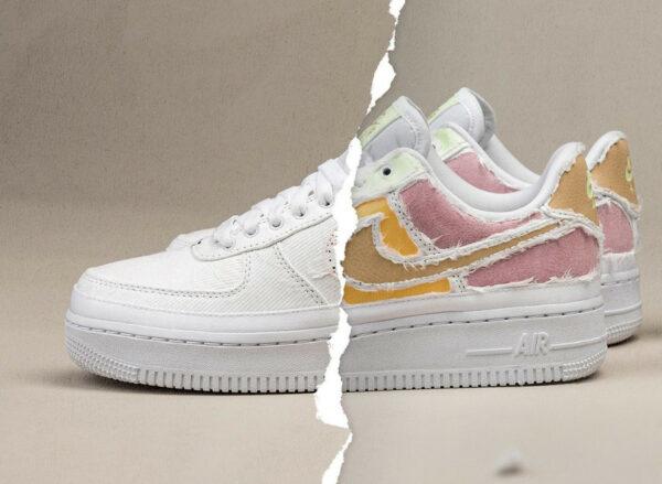 Nike AF1 '07 PRM Tear Away Arctic Punch Pastel Reveal DJ6901 600