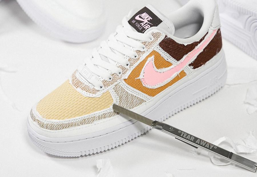 Nike AF1 '07 PRM Tear Away Fauna Brown Texture Reveal DJ9941 244