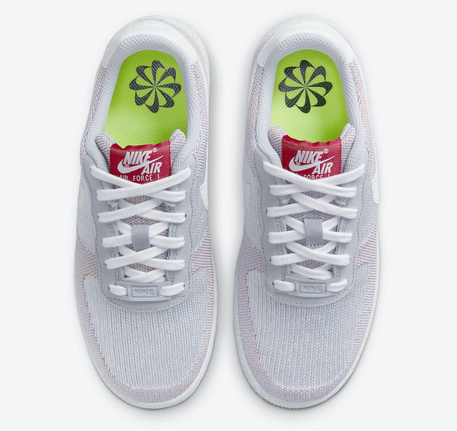 Nike AF1 tricot gris recyclé (1)
