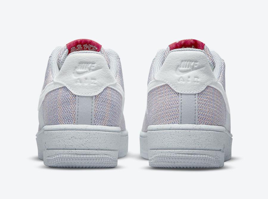 Nike AF1 tricot gris recyclé (2)