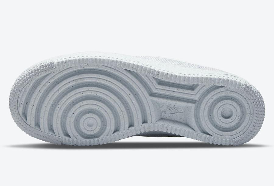 Nike AF1 tricot gris recyclé (3)