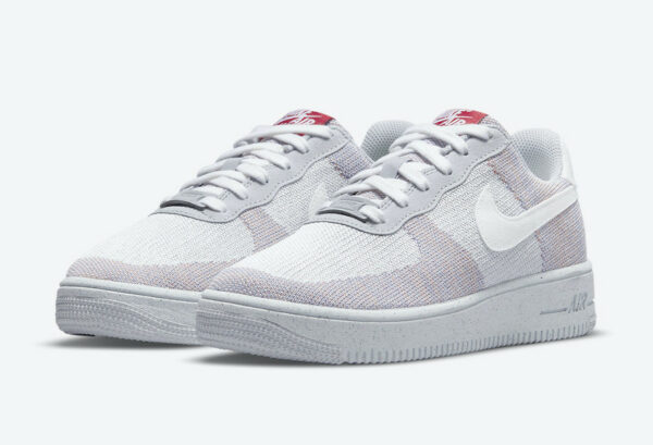 Nike Air Force 1 AF1 Crater Flyknit Wolf Grey DC4831-002