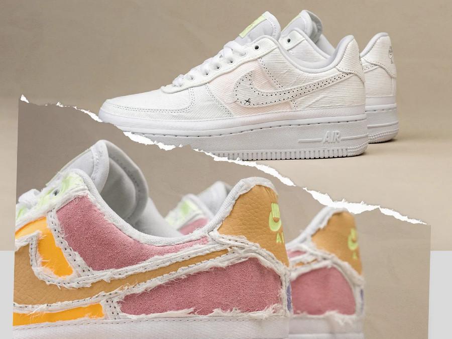 Nike Air Force 1 Low déchirable aux couleurs douces (1)