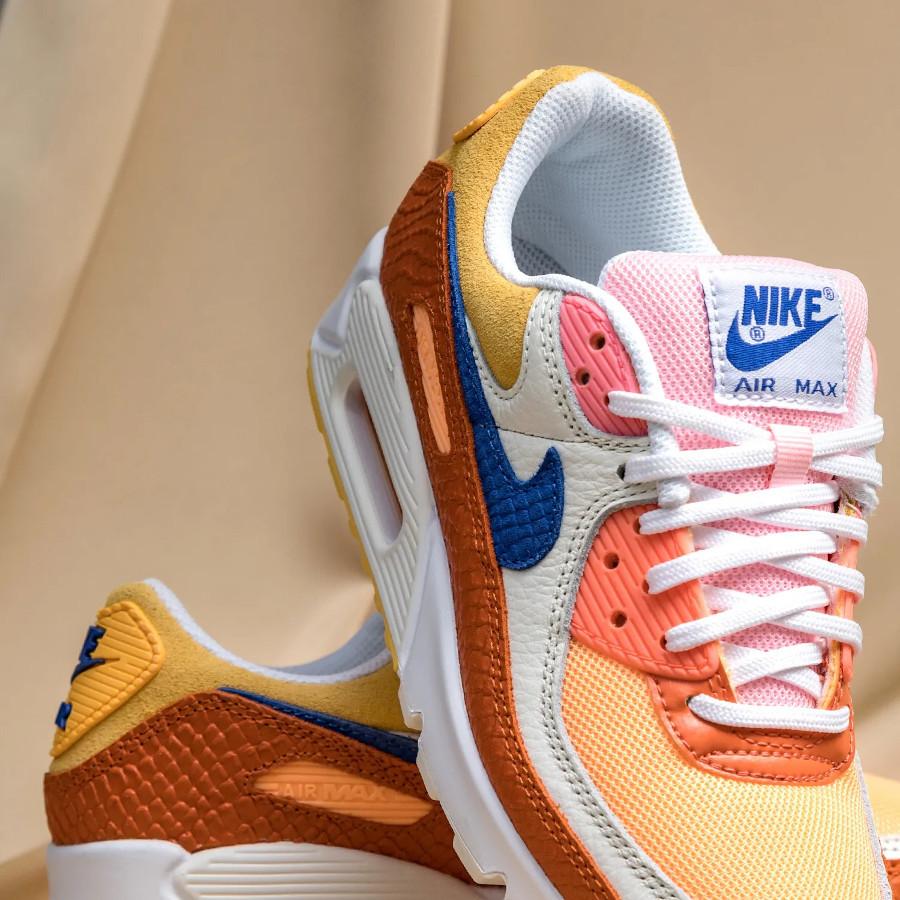 Nike Air Max 90 écailles de serpent multicolores (2)