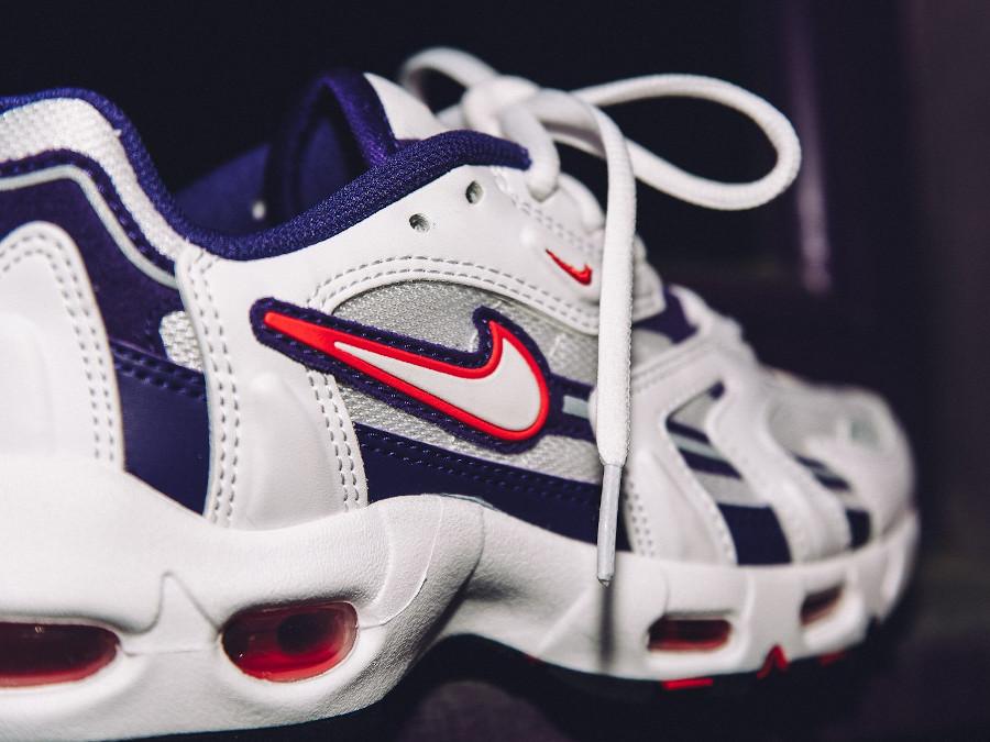 Nike Air Max 96 2 blanche violette et rose (2)