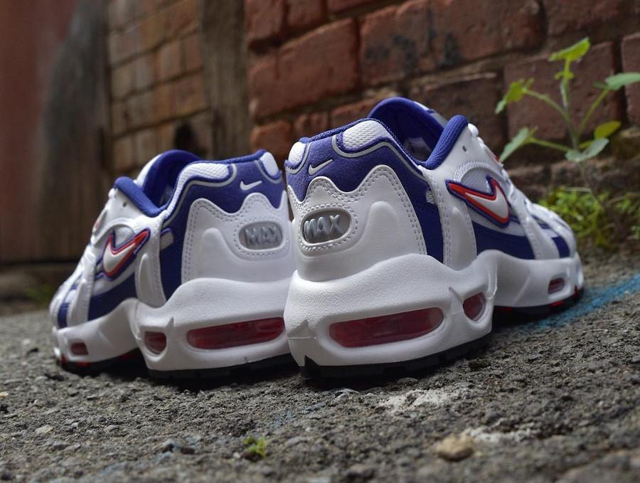 Nike Air Max 96 2 blanche violette et rose (3)