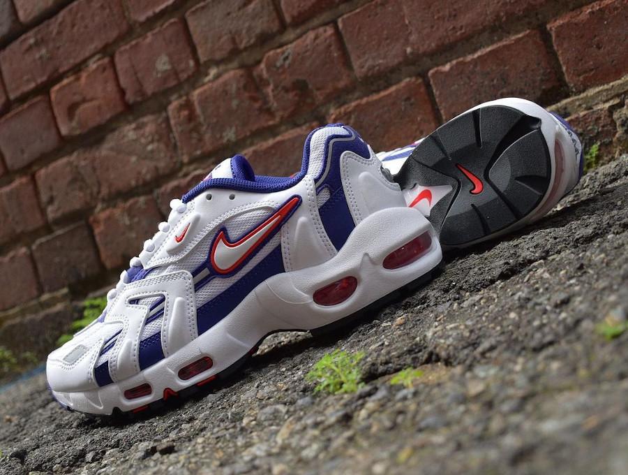 Nike Air Max 96 2 blanche violette et rose (4)