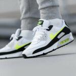 Nike Air Max 90 White Hot Lime 2021