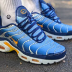 Nike Air Max Plus 'Archive' Sky Blue Laser Orange'