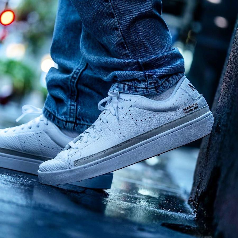 Nike Blazer Lo X blanche et gomme (4)