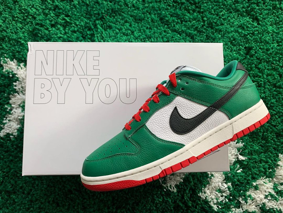 Nike Dunk Low By You Heineken robin.rach