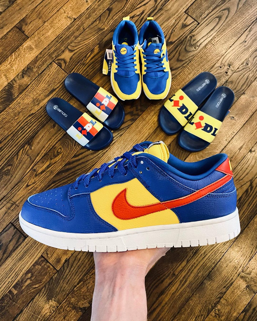 Nike Dunk Low By You Lidl thibaut.ravery